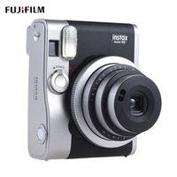Fujifilm Instax Mini 90 Neo Classic Instant Camera LCD Photo Film Camera Macro Photography Double Exposure Shutter Timed Selfie