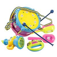 VKTECH 5Pcs/set Musical Instruments Playing Set Colorful