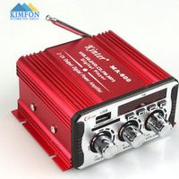 Free DHL Fedex 20pcs/lot Mini Gent Ma600 Mini Car Motorcycle Ofhead Computer Household 12v Small Car Amplifier 60w