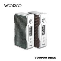 100% Original VOOPOO Drag 157W TC Box Mod VW W/O Battery Temperature Control e cigarette 157W 18650 box mod vape electronic ciga