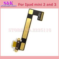 (5pcs/lot) Free shipping USB Charging Dock Connector Charging Port Flex cable Ribbon For ipad mini 2 3 2nd 3rd Replacement