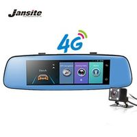 "Jansite 4G WIFI DVR 7.86"" Touch Screen Android Car Camera ADAS Remote Monitor"