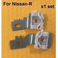 NBYUEP FOR NISSAN QASHQAI WINDOW REGULATOR REPAIR CLIPS FRONT RIGHT SIDE 2007-2010