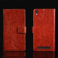 pierves G0 Luxury Flip PU Leather Wallet Cover Phone Case For Doopro P3