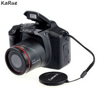 KaRue DC05 12 million pixel Professional SLR camera 4X digital zoom LED headlamps