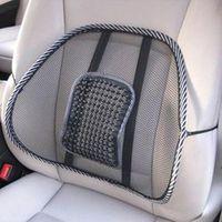 EAFC 39CMx41CM Universal Car Seat Chair Back Massage Lumbar Support Waist Mesh