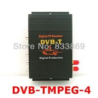 safetyleader 2 Antenna DVB-T MPEG-4 Digital Dual Tuner Receiver TV Box For Car DVD