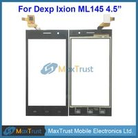 """Top Quality 4.5"""" Touch Panel For Dexp Ixion ML145 Touch Screen Digitizer Front Glass Panel Sensor Replacement Black Color"""