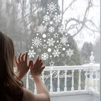 Snow Flakes Winter Snowflake Wall Stickers Window