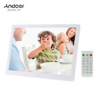 "Andoer 15.6"" LED Digital Photo Frame 1280*800 Advertising Machine Clock MP3 MP4"