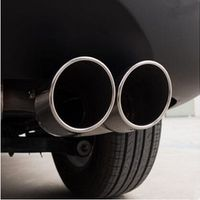 DoColors Car-Styling Car Exhaust Tail Pipes For Chery Tiggo Fulwin A1 A3 QQ E3 E5 G5