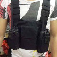 honghuismart Walkie Talkie Tactical Nylon Bag Radio Case Holster Pouch for kenwood