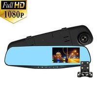 NIDALEE Rearview Mirror Car DVR Camera Dual lens Full HD 1080P Video Registrator