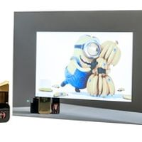 "AVEL 19"" waterproof Mirror TV for Bathroom Analog tuner NTSC PAL SECAM AVS190FS."