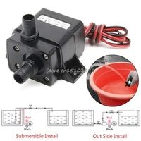 SAILFLO Mini DC12V 3m 240L/H Brushless Motor Submersible Water Pump Home