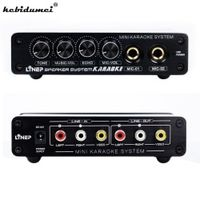 kebidumei kebidumeiA933 Mini Karaoke Machine System Sound Mixer Amplifier 12V W/ RCA