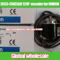 Nzluliyuan 1pcs E6C3-CWZ5GH 120P R optical for OMRON /