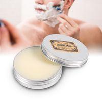 TMISHION 1 Pcs Mustache Cream Deluxe Men's Round Facial Care Goat Milk Beard Soap