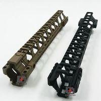 "12"" Ultra-light Weight Aluminum One 12 inch Float Handguard Picatinny Quad Rail"