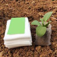 TOOKIE 100Pcs/set Nursery Pots Seedling Raising Non-woven