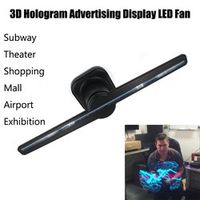ISHOWTIENDA Hologram Advertising Display Holographic Imaging 3D Naked Eye LED Fan 20