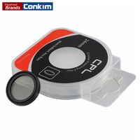 Conkim 24mm CPL Filter For Car Dash Camera DVR 0806/0806s/0903/0905/0906 Magnetic Circular Polarizer Glass 24mm