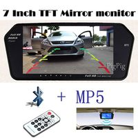 Koorinwoo 1024x600 High Resolution 7INCH TFT LCD rearview Mirror Sreen TF USB