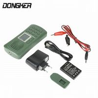 DONGKER Outdoor Tweet Electronics Birds Caller 120DB 10W No Remote Control Portable
