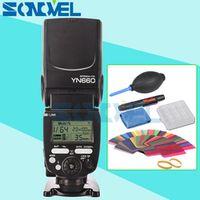 YONGNUO YN660 Flash Speedlite GN66 2.4G Wireless for Canon Nikon Olympus camera