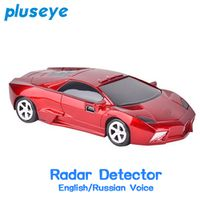 pluseye 2018 anti radar x k ka ku band car laser radar detector for Russian English