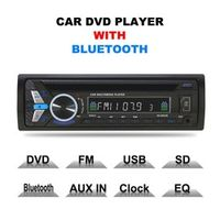 KONNWEI Single Din Universal Car Vehicle DVD Player with Bluetooth with Electronic