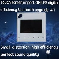 3 inch Audio in wall FM/SD/AUX IN/USB Music Player Bluetooth digital stereo amplifier
