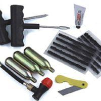 JMANEYES Inflation Inflator Repair Tool Kit Motorcycle ATV QUAD Dirt Bike 16g Co2