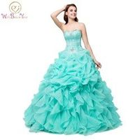 WALK BESIDE YOU 100% Real Quinceanera Dress Ball Gown
