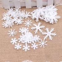 HUAYUXIANG 100pcs winter new year snowflakes children