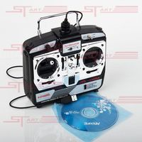 New 16 IN 1 USB 6CH JTL-0904A Real Flight Simulator With Transmitter for RC Plane Quadcopter Dron Remote Control Toy Drop Ship