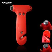 BOASE Seat Cutter Car Safety auto Knife Glass Breaker Life Hammer Emergency rescue