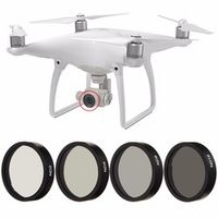 PULUZ 4pc ND2 ND4 ND8 ND16 Filter for DJI Phantom 3 4 Professional Advanced Camera