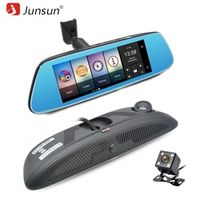 """Junsun K716 Car Video 8"""" 4G DVR Android 5.1 with GPS DVRs Automobile Rearview Mirror"""