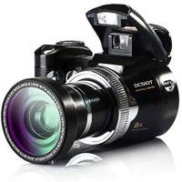 PROTAX 16Mp Max Digital Protax/Polo DC510T SLR Shape 5MP CMOS 8X Zoom Camera HD 720P