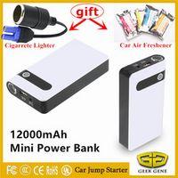 GEEK GENE Best Car Jump Starter 12000mAh High Power Bank Portable Charger Battery