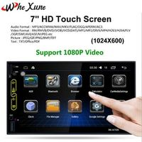 WHEXUNE 7 Inch Touch Screen Android 6.0 Car Multimedia DVD Player 1028 x
