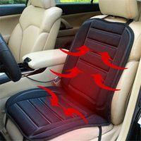 ISHOWTIENDA 12V Universal Car Heated Seat Cushion Cover Warmer Pad Winter koltuk