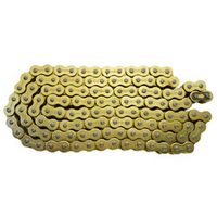 AHL Motorcycle Parts 525 * 120 Drive 525 Pitch Heavy Duty Gold O-Ring Chain 120 Links
