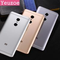 YEUZOE phone Housing for Xiaomi Redmi Note 4 case Replacement Parts Metal back