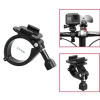 ABS+Aluminum Alloy Handlebar Bar Clamp Mount Bicycle Bike Cycle For Gopro Hero Action Camera