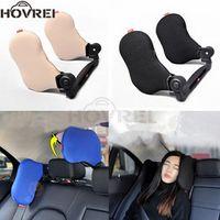 HOVREI Adjustable Car Seat Headrest neck Pillow Head Support Resting Nap Sleep Side