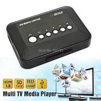 VOXLINK 1080P Full HD SD/MMC Videos SD MMC RMVB MP3 Multi TV USB HDMI Media Player