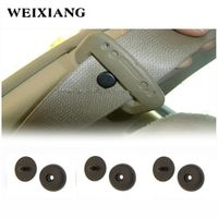 WEIXIANG Universal Black POM Seat Belt Car Safety Seatbelts Clips Fasteners Buckle