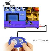 DATA FROG 8 Bit Mini Video Console Build In 89 Classic Support TV Output Plug